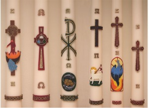 Paschal Candles (Source: Wikimedia Commons)