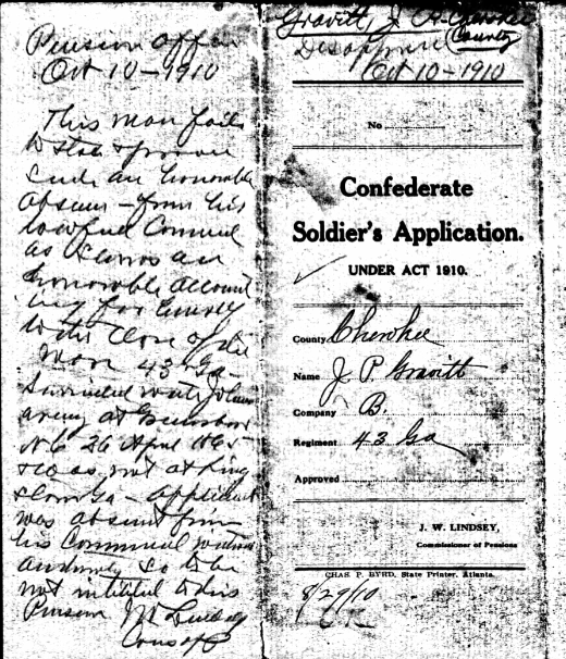 Image Courtesy of the Georgia Archives, accessed on Ancestry.com. *YOU* try to read this handwriting.