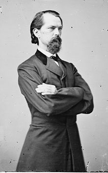 Confederate General and Georgia Governor John Brown Gordon. Photo by Matthew Brady. (Source: Wikimedia Commons)