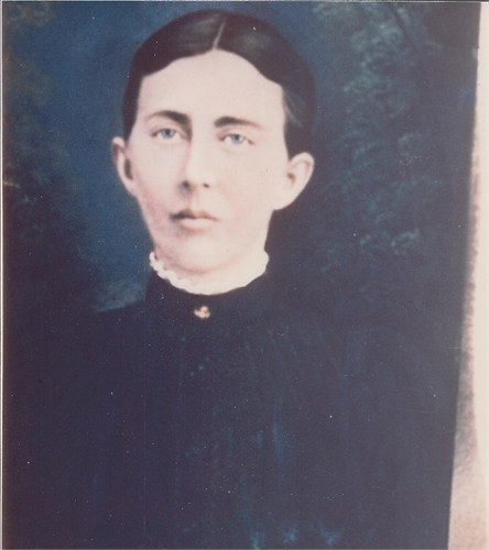 Edith West Harris (1850-1891) (Image Courtesy of Debbie Shull)