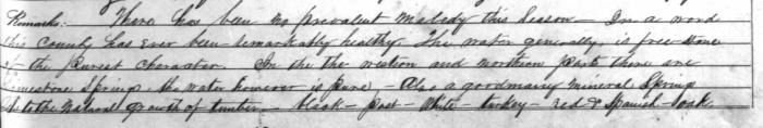 Cherokee County GA Census Mortality Schedule 1850