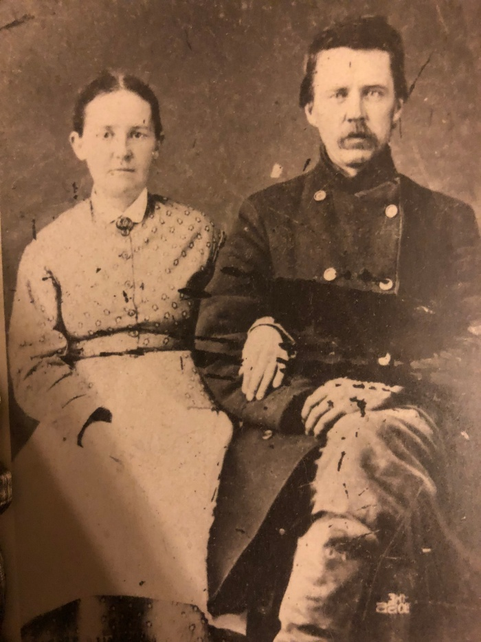 William D Butterworth and Luvenia Cobb c. 1890