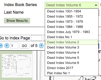 Cherokee County GA Deed Index Book Search